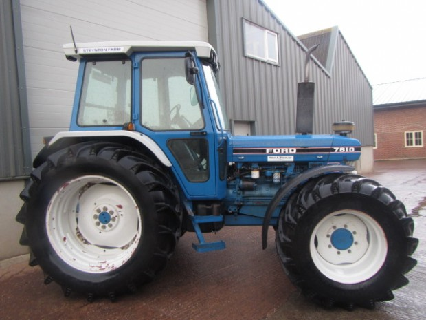 Ford 7810 III, 1990, 7,233 hrs | Parris Tractors Ltd