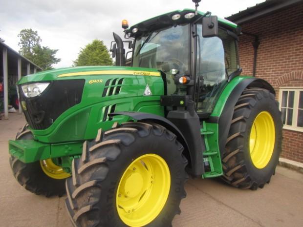 John Deere 1050 Tractor Seat : John deere r  hrs parris tractors ltd