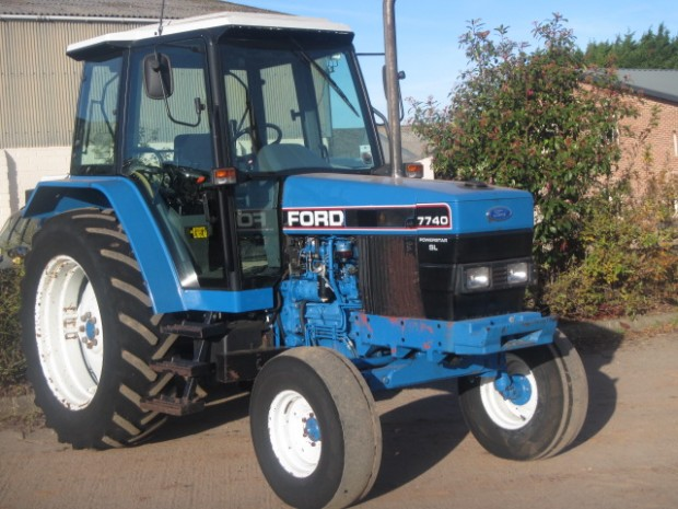 Ram Price >> Ford 7740 SL, 1993, 7,080 hrs | Parris Tractors Ltd