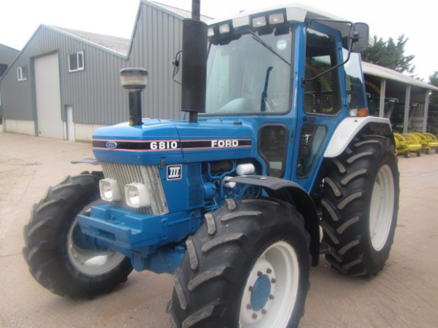Ford 6810 III, 1992, 4,972 hrs | Parris Tractors Ltd
