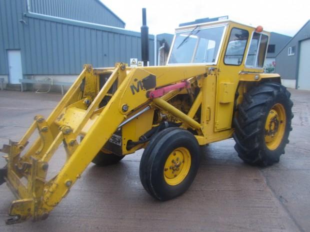 Massey Ferguson 50 Loader : Massey ferguson loader tractor  hrs