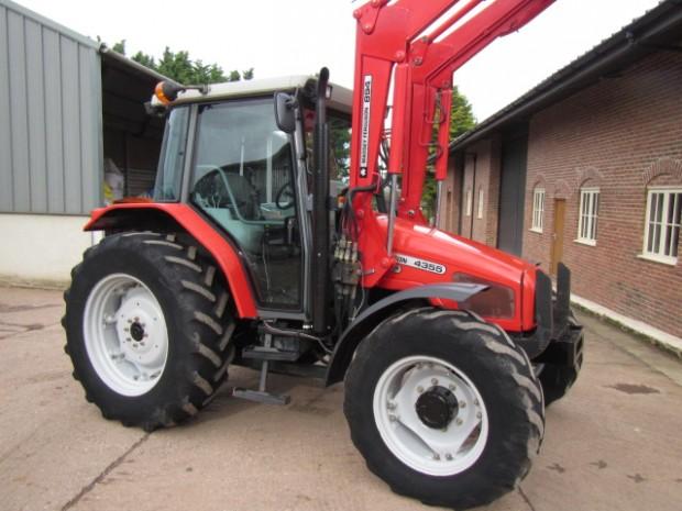 massey ferguson 4355 03 2002 3 640 hrs parris tractors ltd