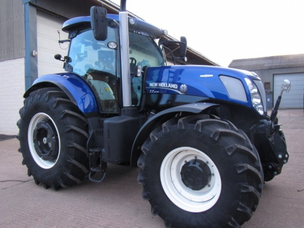 New Holland Tractor Wheel Weights : New holland t  hrs parris tractors ltd