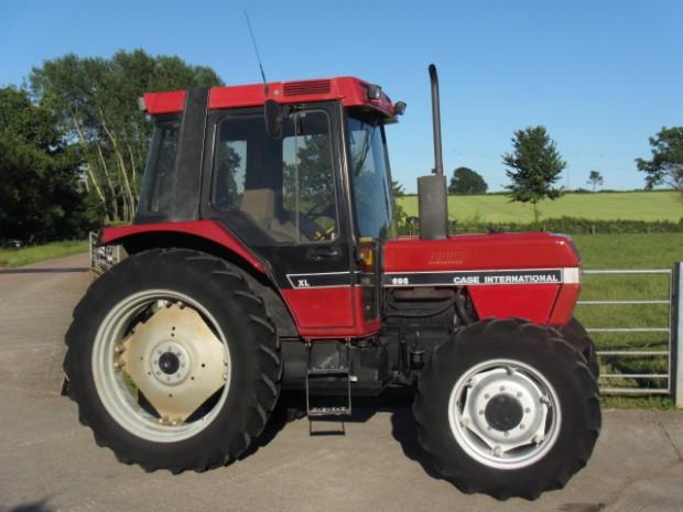 case 695 xl 09 1991 4 120 hrs parris tractors ltd