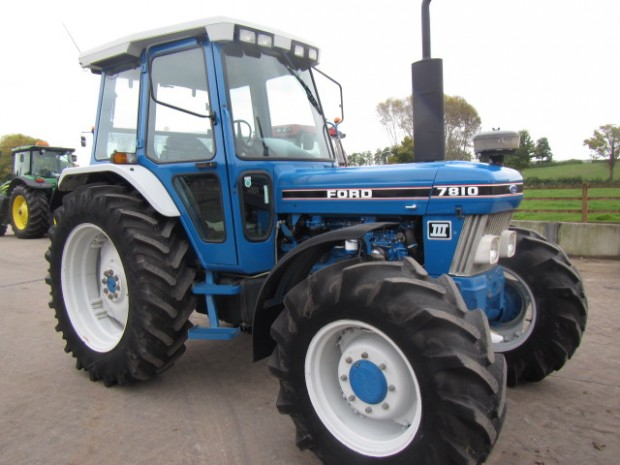 Ford 7810 Tractor : Ford iii  hrs parris tractors ltd