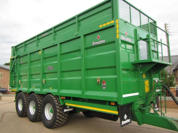 broughan b24 24 ton tri axle trailer 2016 parris