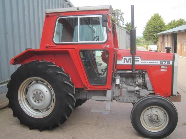 Massey Ferguson 575, 1982, 6,645 hrs | Parris Tractors Ltd
