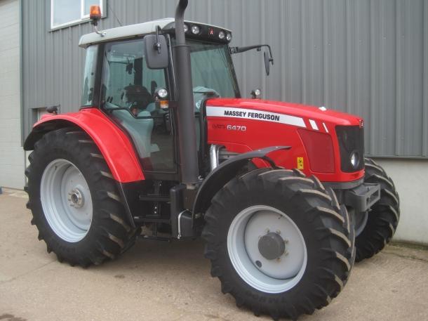 Massey Ferguson 6470 03 2012 495 Hrs Parris Tractors Ltd