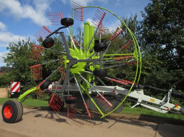 claas liner 2900 rake 2012 parris tractors ltd