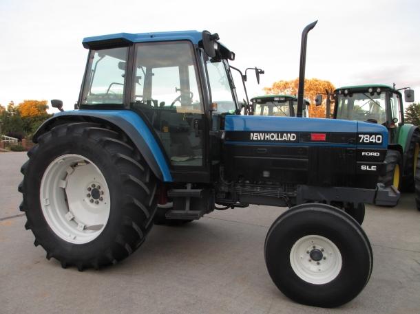 New Holland 7840 SLE, 1996, 6,530 hrs | Parris Tractors Ltd
