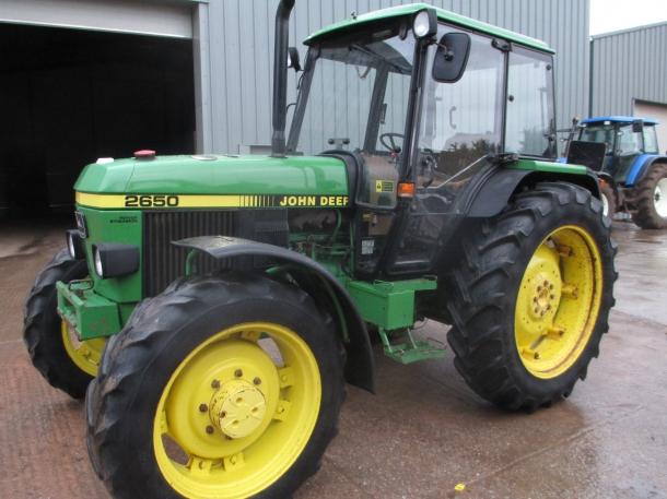 John Deere 2650, 10/1994, 5,354 hrs | Parris Tractors Ltd