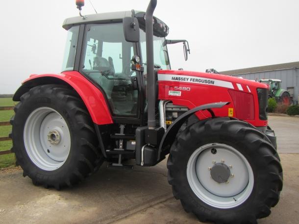 Massey Ferguson 5480, 04/2012, 505 hrs | Parris Tractors Ltd