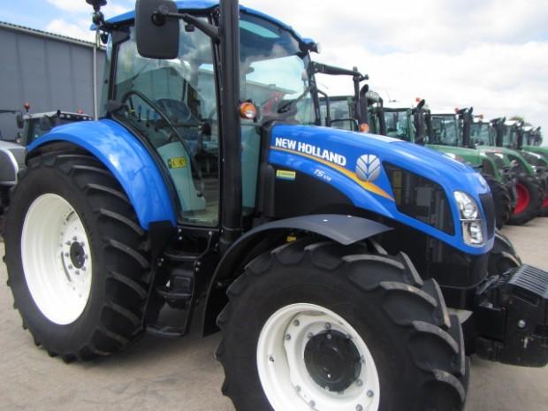 New Holland T5 >> New Holland T5.105, 2013, 450 hrs | Parris Tractors Ltd
